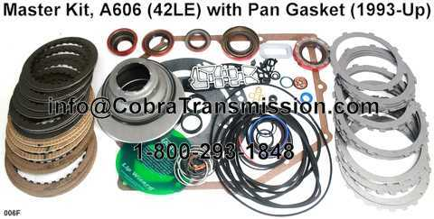 Master Kit, A606 (42LE) with Pan Gasket (1993-Up)
