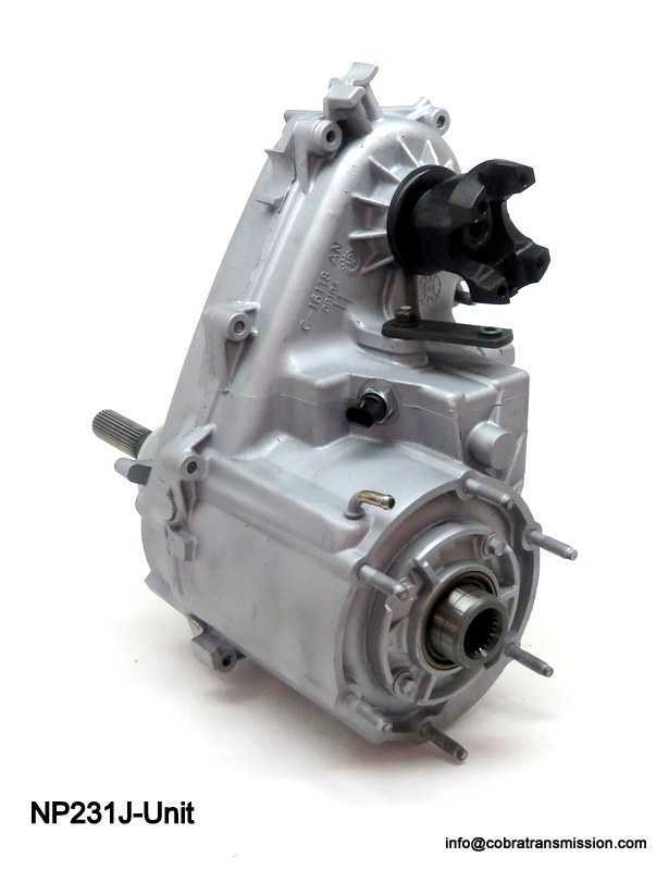 New Process NP231 Jeep Transfer Case - 21 Spline