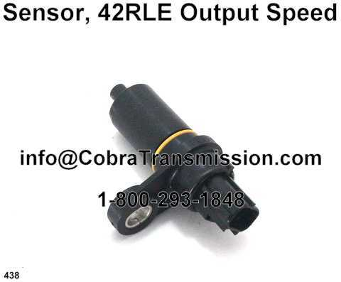 Sensor, 42RLE Output Speed