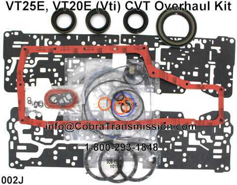 VT25E, VT20E (Vti) CVT Overhaul Kit