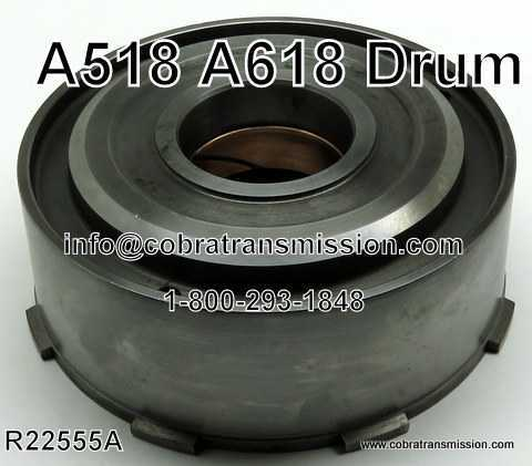 A518, A618 Drum - Direct 3 Frictions
