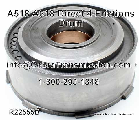 A518, A618 Drum - Direct 4 Frictions
