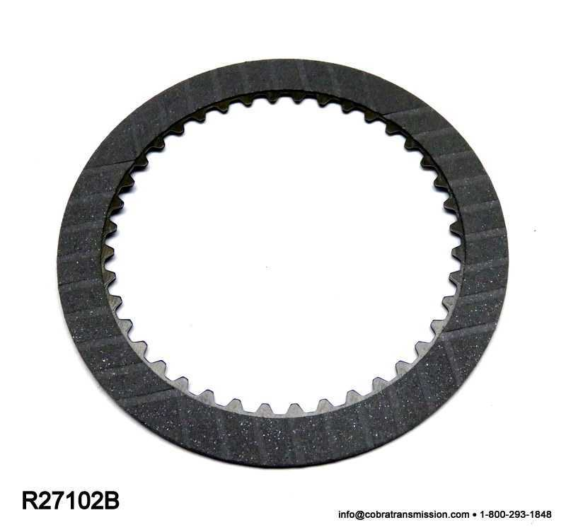 U240E, U241E Friction Plate, Underdrive Brake #1