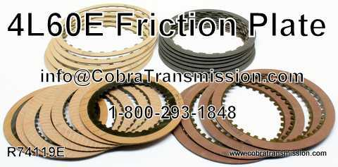 4L60E Friction Kit