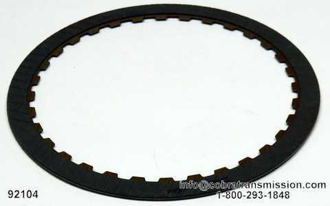 62TE 2-4 Clutch Friction Plate