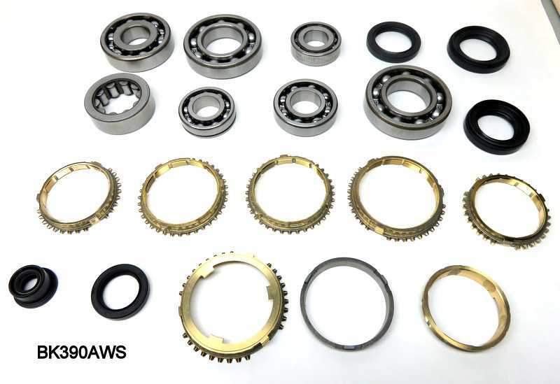Honda, Acura, Synchro, Bearing, Gasket and Seal Kit S4C