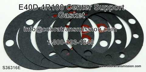 E40D, 4R100, Center Support Gasket