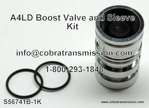 A4LD Boost Valve & Sleeve Kit
