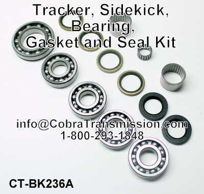 Geo Tracker, Suzuki Sidekick, Bearing, Gasket and Seal Kit