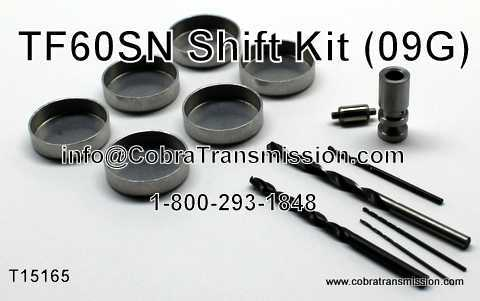 TF60SN (09G) Shift Kit
