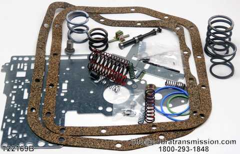 Valve Body Kit, Reprogramming Kit™, A518 (46RH, 46RE)
