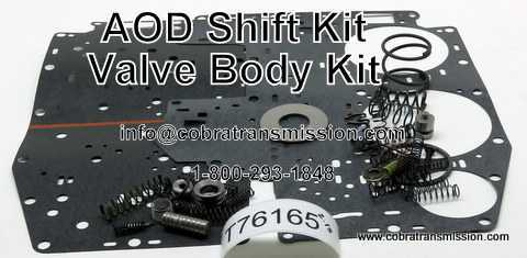 Valve Body Kit, Shift Kit AOD (FIOD)
