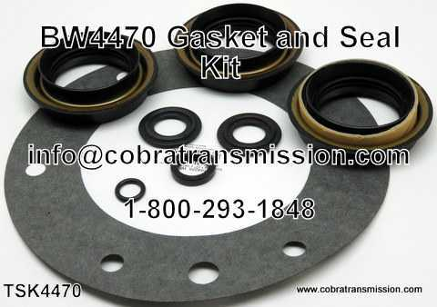 BW4470 Gasket & Seal Kit