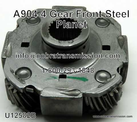 A904 (TF6) Planet, Front, 4 Gear, Steel
