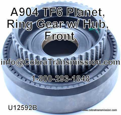 A904 (TF6) Planet, Ring Gear w/ Hub, Front