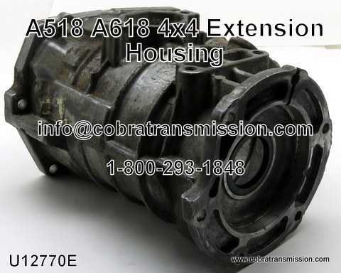 "A518, A618 4x4 Extension Housing - 11"" 2 Bosses"