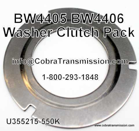 BW4405, BW4406 Washer Clutch Pack
