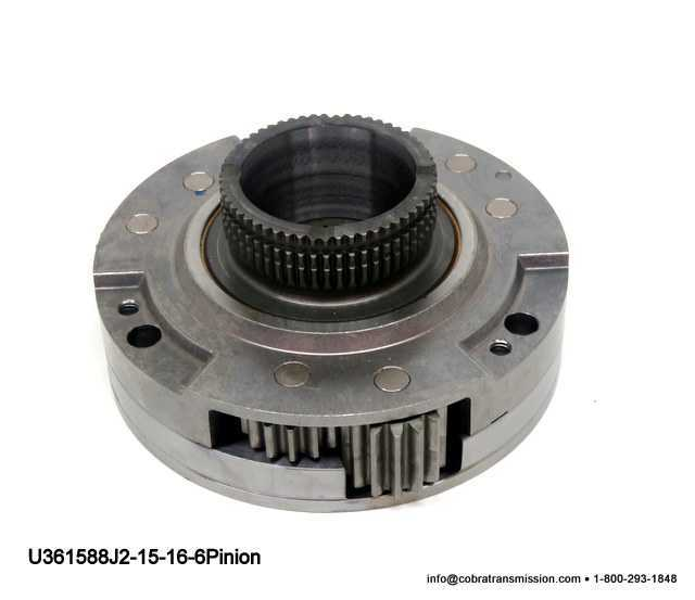 NP242J Differential Carrier 2 15-16""