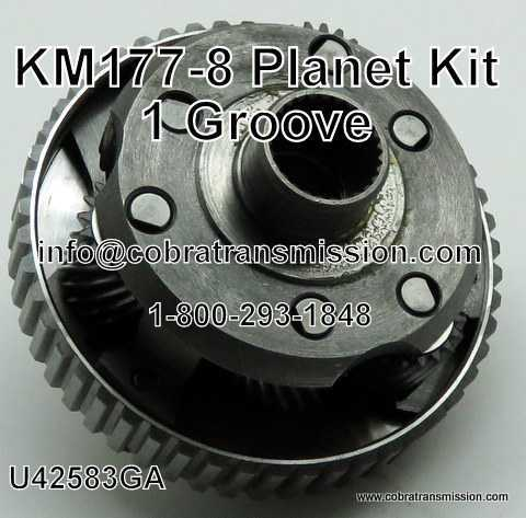 KM177-8 Planet Kit - 1 Groove