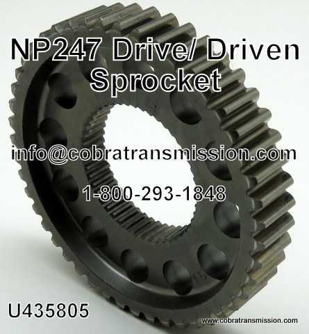 NP247 Drive / Driven Sprocket
