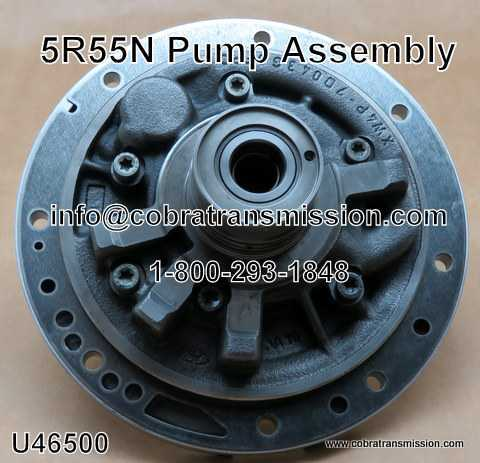 Pump Assembly, 5R55N