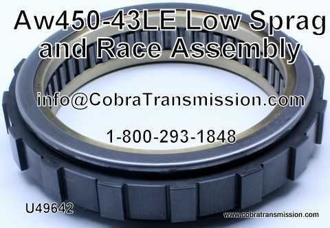 AW450-43LE Low Sprag & Race Assembly