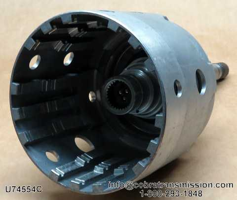 700-R4 Input Drum and Shaft