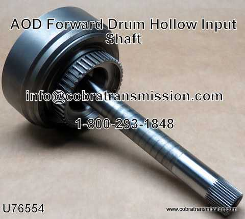 AOD, Forward Drum with Hollow Input Shaft