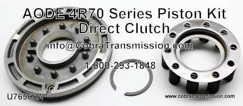 AODE, 4R70 Series Piston Kit, Direct Clutch
