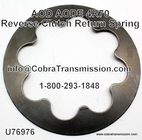 AOD, AODE, 4R70 Series Spring, Reverse Clutch Return