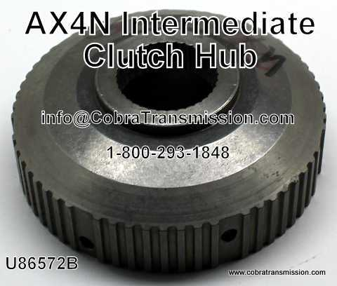 Clutch Hub, Intermediate AX4N, 4F50N