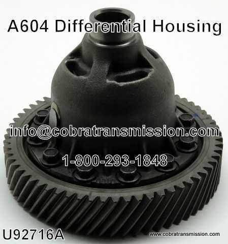 A604 Differential Housing - 19-22