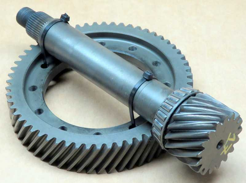 A604 Differential, Ring & Pinion Set