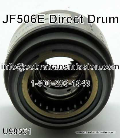 JF506E, Drums & Clutch Hubs, Drum, Direct