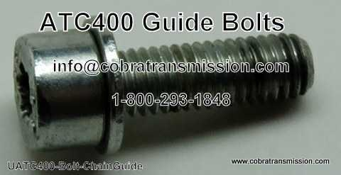 BMW X3 - ATC-400 Guide Bolts