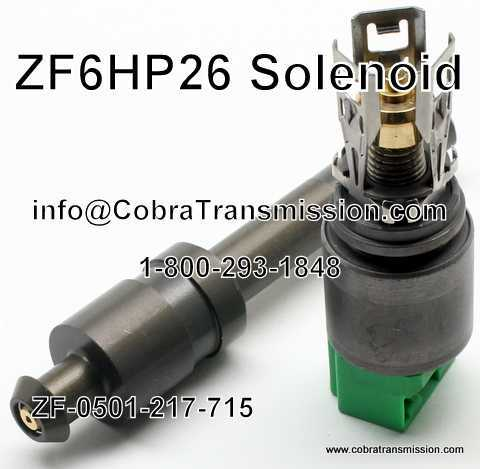 ZF6HP26 Solenoide - 0501-217-715